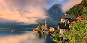 Sunrise in Hallstatt, Austria