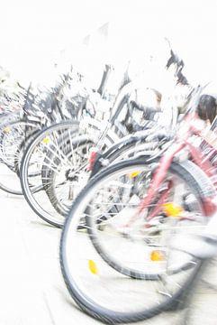 Bicyclettes, abstraites sur Norbert Sülzner