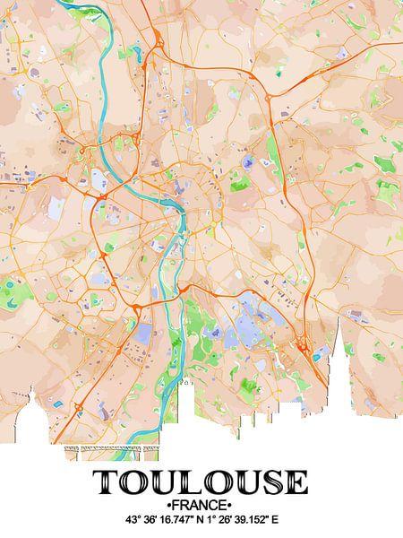 Toulouse van Printed Artings