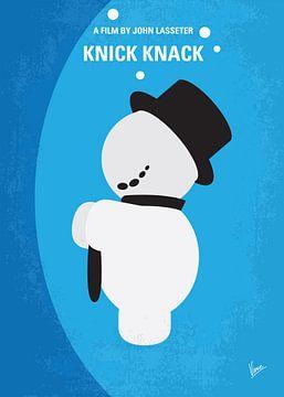 No172 My Knick Knack minimal movie poster van Chungkong Art