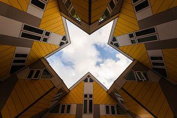 Kubus woningen in Rotterdam van Fabio Holkema