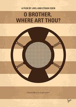 No055 My O Brother Where Art Thou minimal movie poster van Chungkong Art