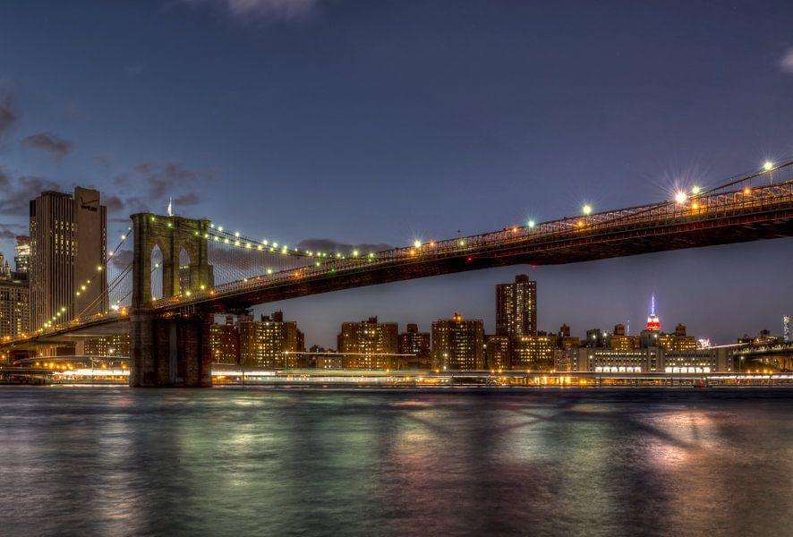 New York Brooklyn Bridge Manhattan van Carina Buchspies
