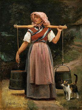 Ein Milchmädchen, Otto Bache