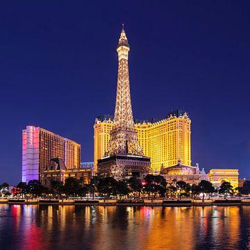 Eiffelturm am Hotel Paris  The Strip, Las Vegas, Nevada, USA von Markus Lange