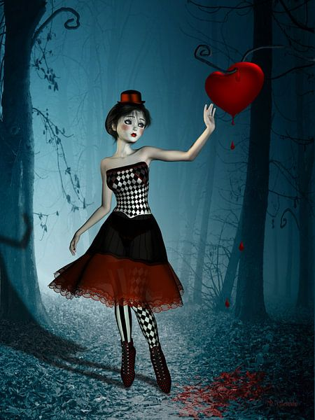 Bleeding heart van Britta Glodde