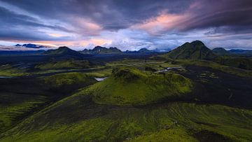 Hvanngil, IJsland van Sven Broeckx