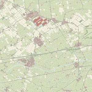 Kaart vanMenaldumadeel