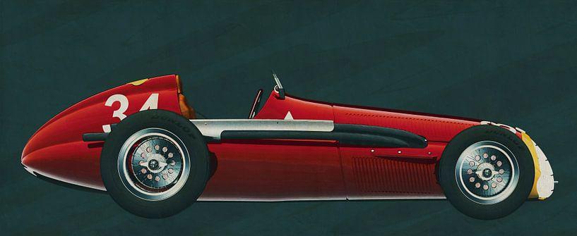 Alfa Romeo 158 Alfetta sur Jan Keteleer