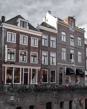 Grachtenpand in Utrecht sur Kim de Been