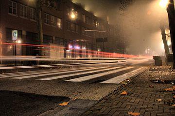HDR foto van mistig Nijverdal van