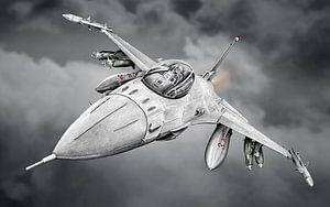 F-16 - Straaljager van Willem Heemskerk