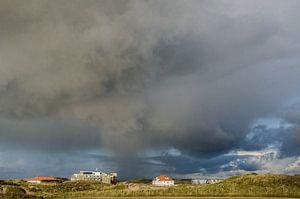 Noodweer op komst Wijk aan Zee