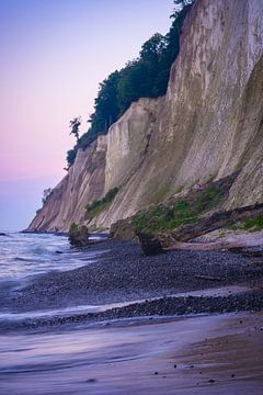 Kreideküste am Abend von Martin Wasilewski