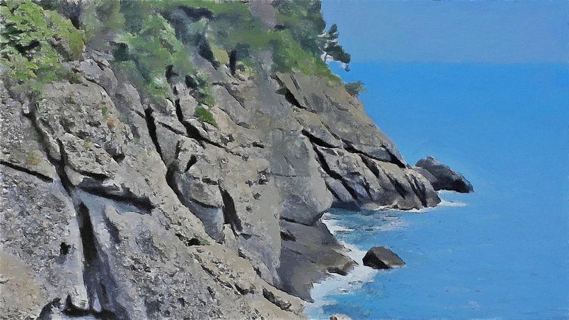 Portofino Kliffen van Schildersatelier van der Ven