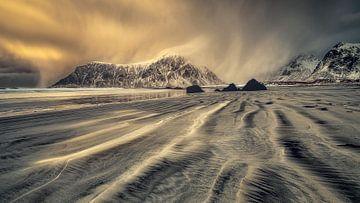 Sonnenuntergang Lofoten von Peter Poppe