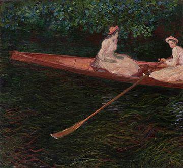 Das Kanu auf Epte, Claude Monet