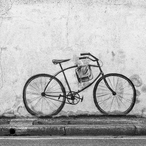 Wallpainting -Bike- Arromanches