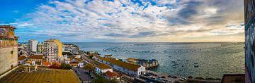 Panoramafoto Faro, Portugal van Fred Leeflang