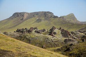 IJslands binnenland Landmannalaugur