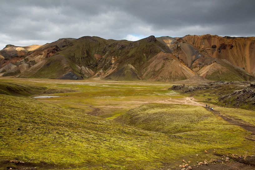 IJslands binnenland Landmannalaugur sur Menno Schaefer