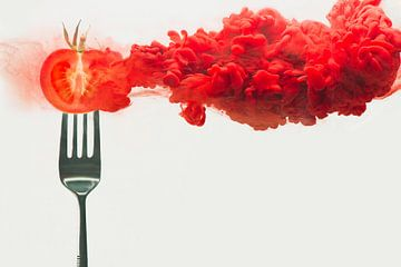 Gedesintegreerd tomaat, Dina Belenko van 1x