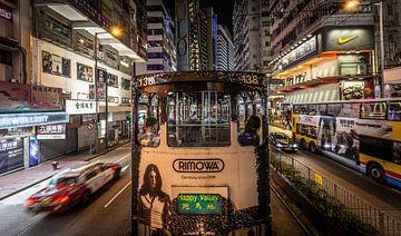 Een nacht in Hong Kong. van Claudio Duarte