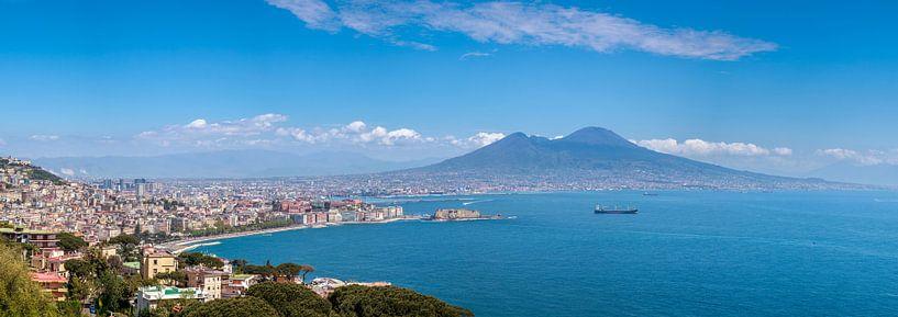 Neapel und der Vesuv von Teun Ruijters