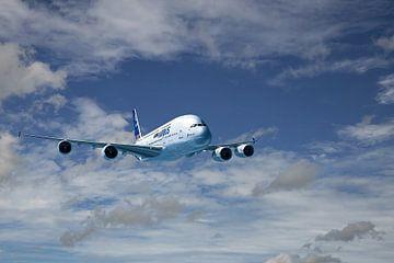 Airbus A380 van Gert Hilbink