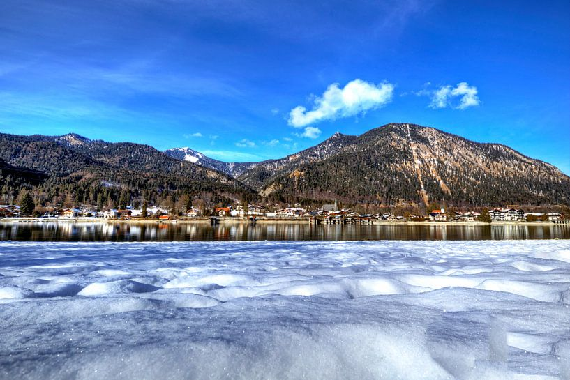 Schnee küsst See von Roith Fotografie
