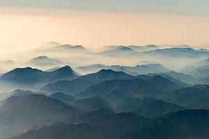 Bergen boven de mist