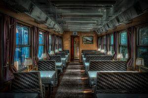 Ein Zugwaggon wie der Orient-Express von Esther Faber