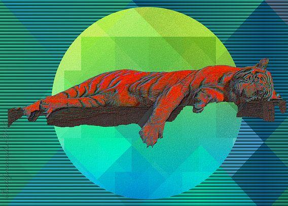 Sleeping Tiger von mimulux patricia no