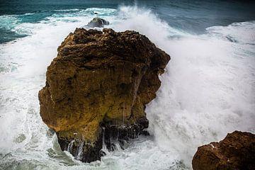 Contournée par l'eau et la roche sur Part of the vision