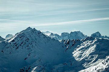 Vergezicht in de bergen sur Edzard Boonen