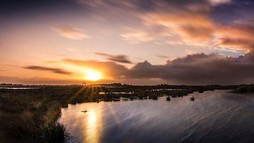 Sunset at Dannemeer van Ronnie Schuringa