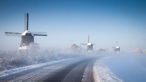 Holland in de sneeuw van