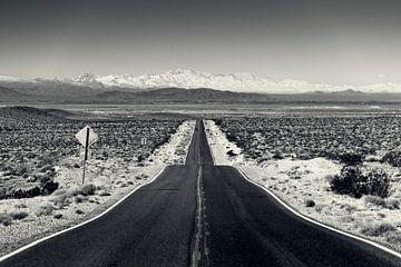 Vallée de la mort - autoroute CA-190 sur Keesnan Dogger Fotografie