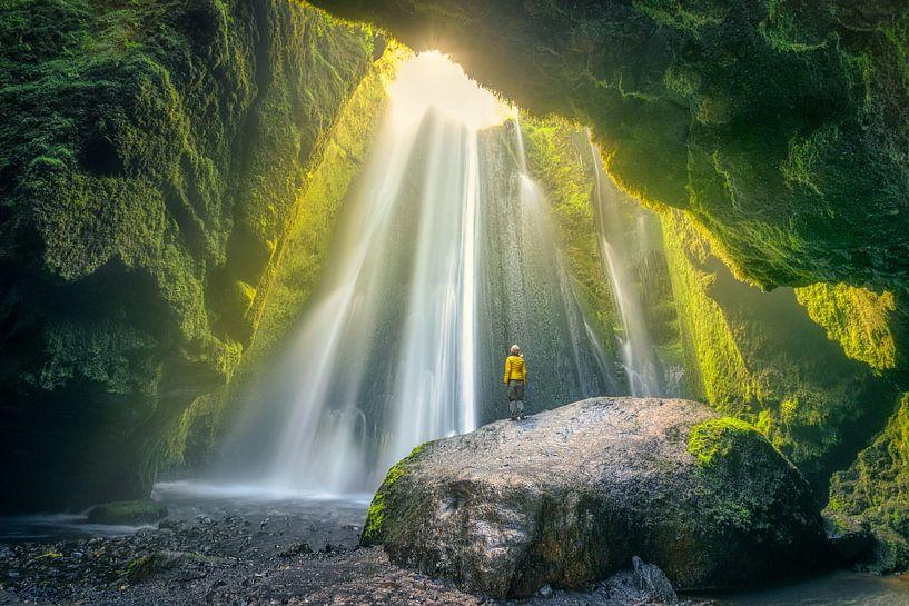 CaveFalls Iceland von FineArt Prints   Zwerger-Schoner  