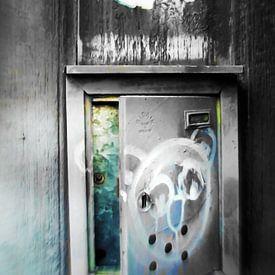 Plaka -  leaving postbox von Pia Schneider