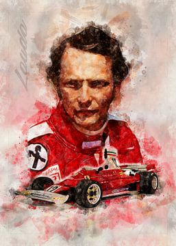 Niki Lauda von Theodor Decker