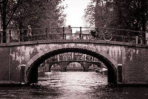 Amsterdam bridges van