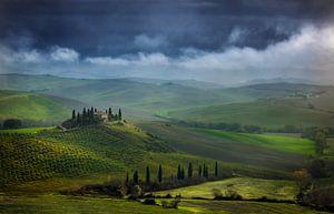 Toscane Villa Belvedere Italië Landschap Formaat