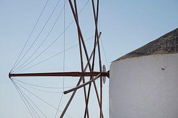 Windmühle in Griecheland von Barbara Brolsma