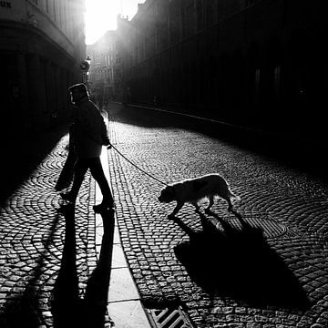 Randonnée avec le chien sur Frédéric Goetinck-Moret