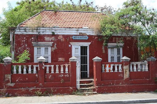 rood huisje nueva victoria willemstad curacao