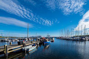 Blick auf den Hafen von Rerik am Salzhaff sur Rico Ködder