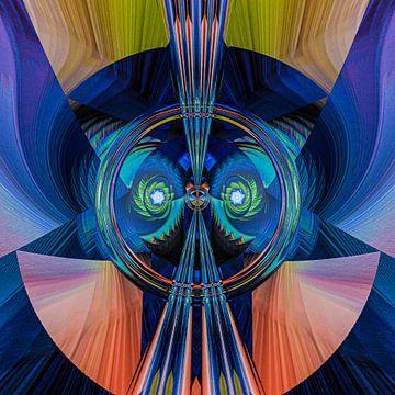 Fantasierijke abstracte twirlillustratie 131/7 van PICTURES MAKE MOMENTS