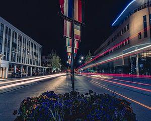 Lichtstralen in Leeuwarden van
