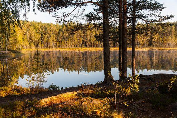 Zweeds meer van Geertjan Plooijer